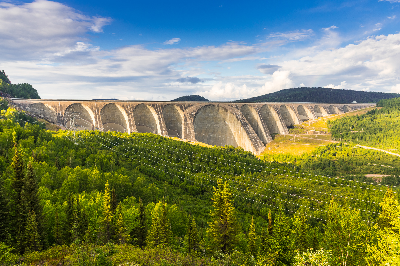 Les impressionnants barrages de la Côte-Nord
