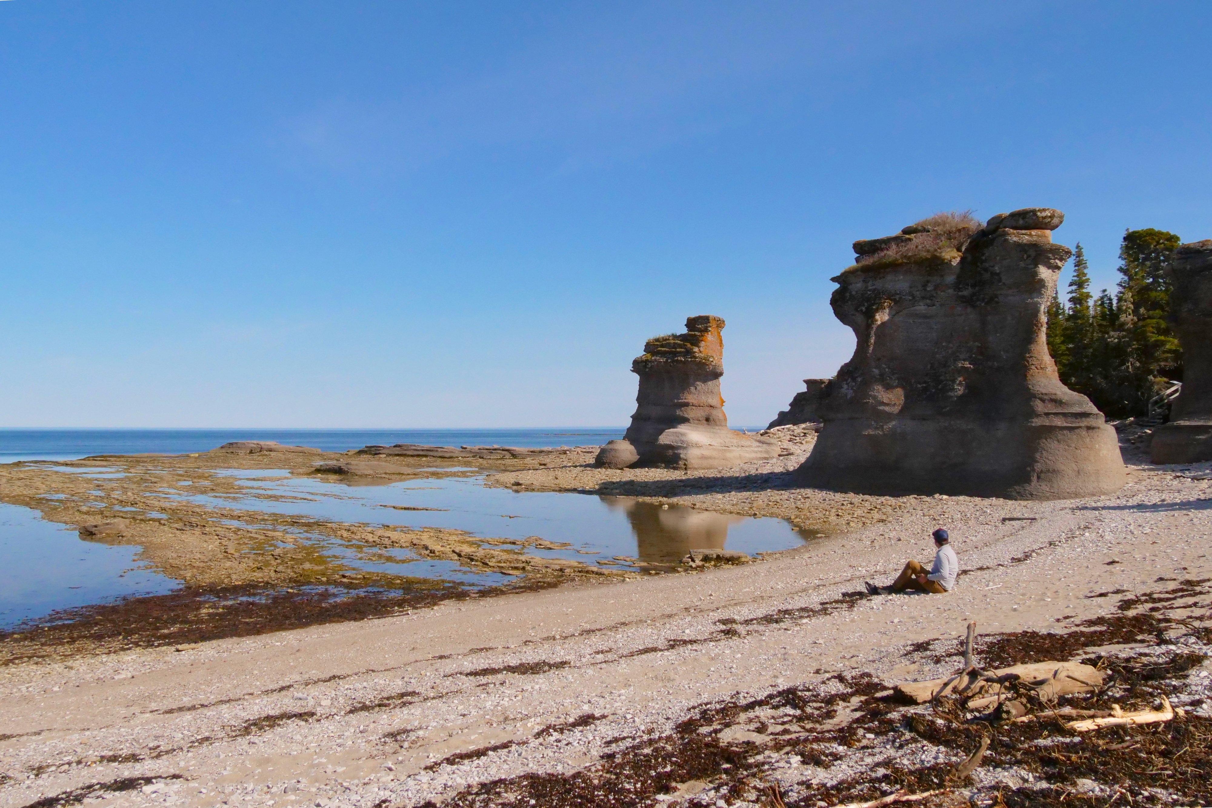 L'Archipel-de-Mingan sur la Côte-Nord