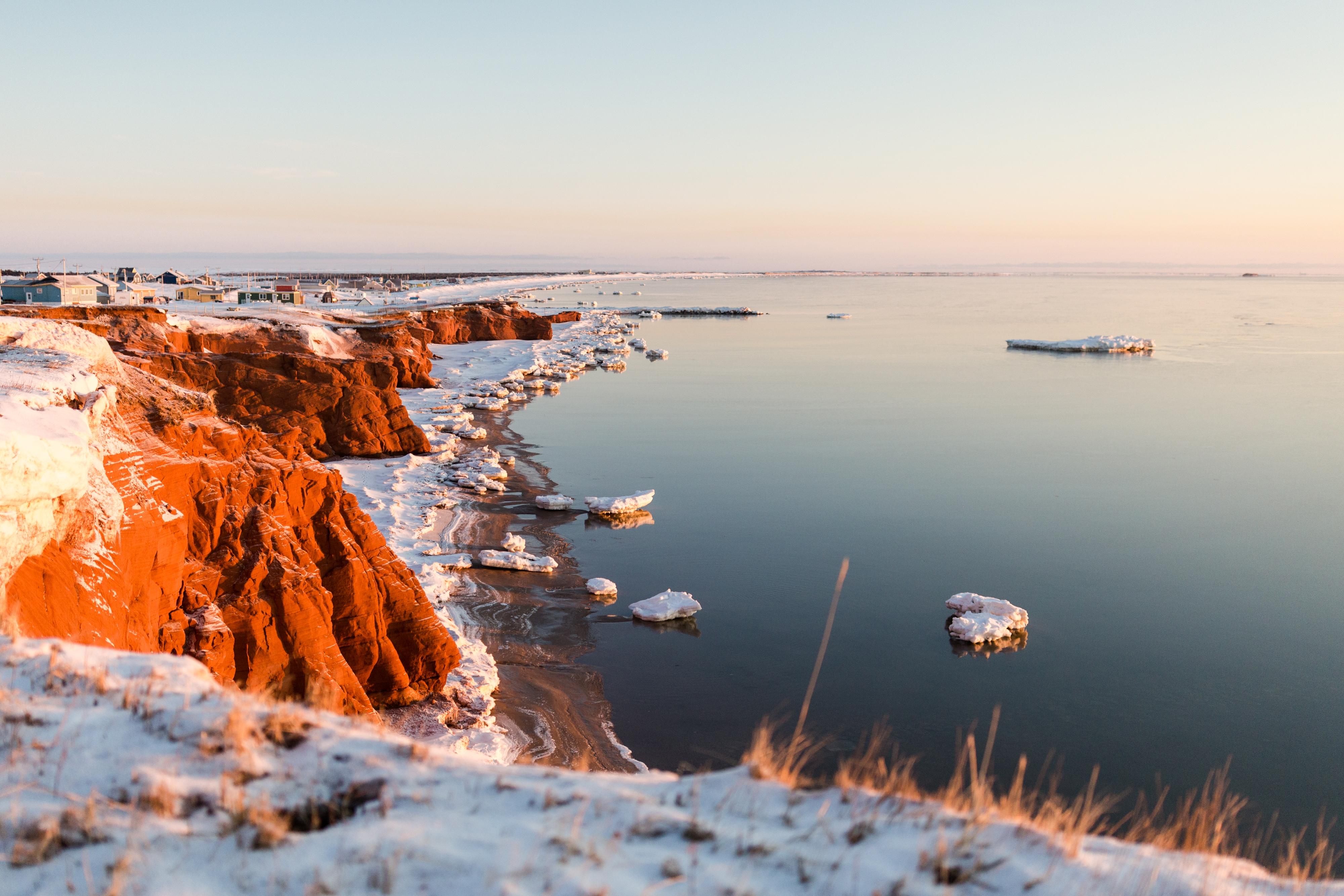 Les Îles de la Madeleine en hiver