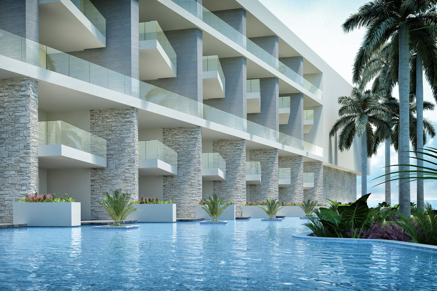CUN-The-Royal-Suites-Coral-Pool-001 - Copie