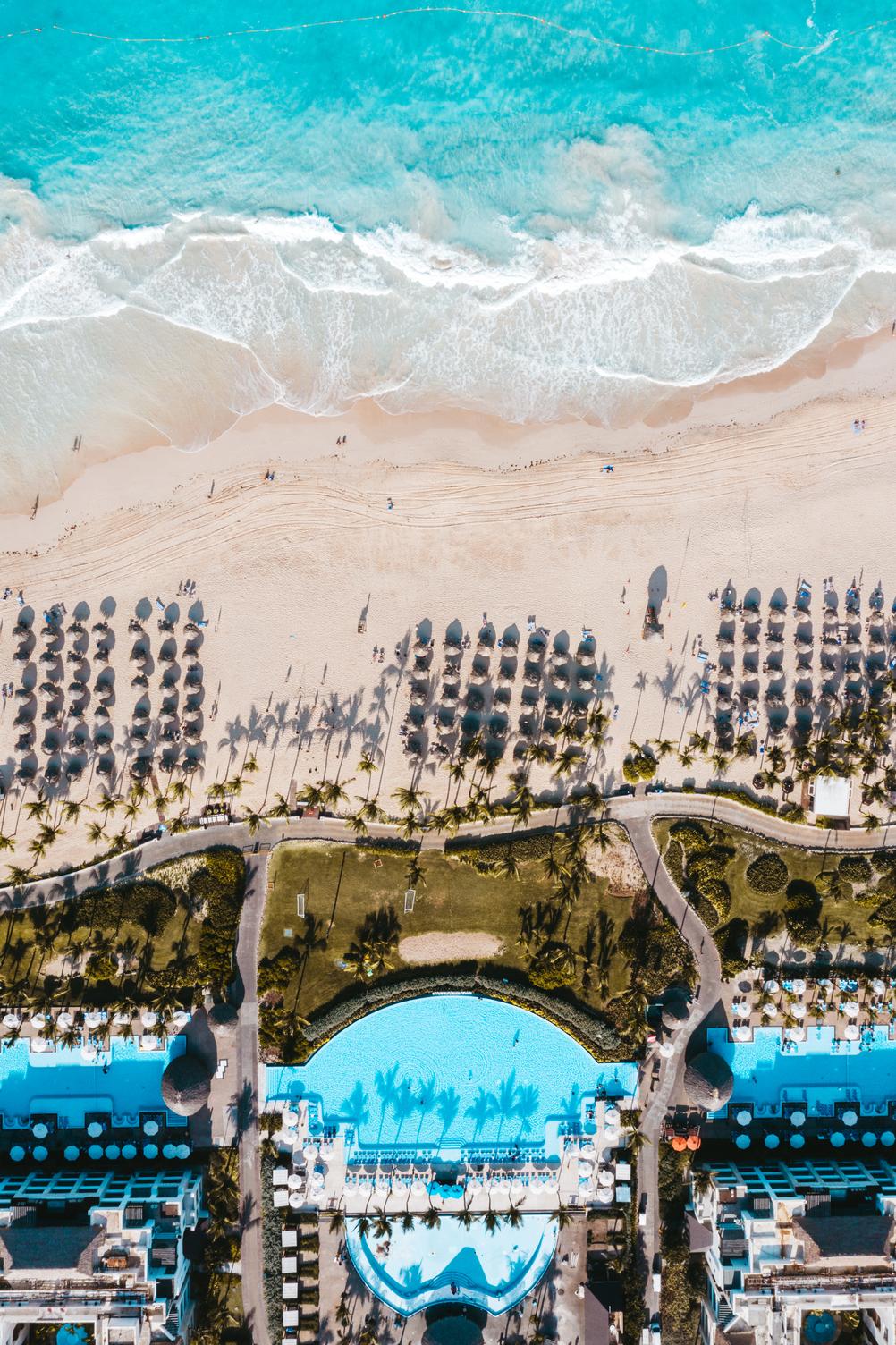 13 piscines au Hard Rock Hotel Punta Cana