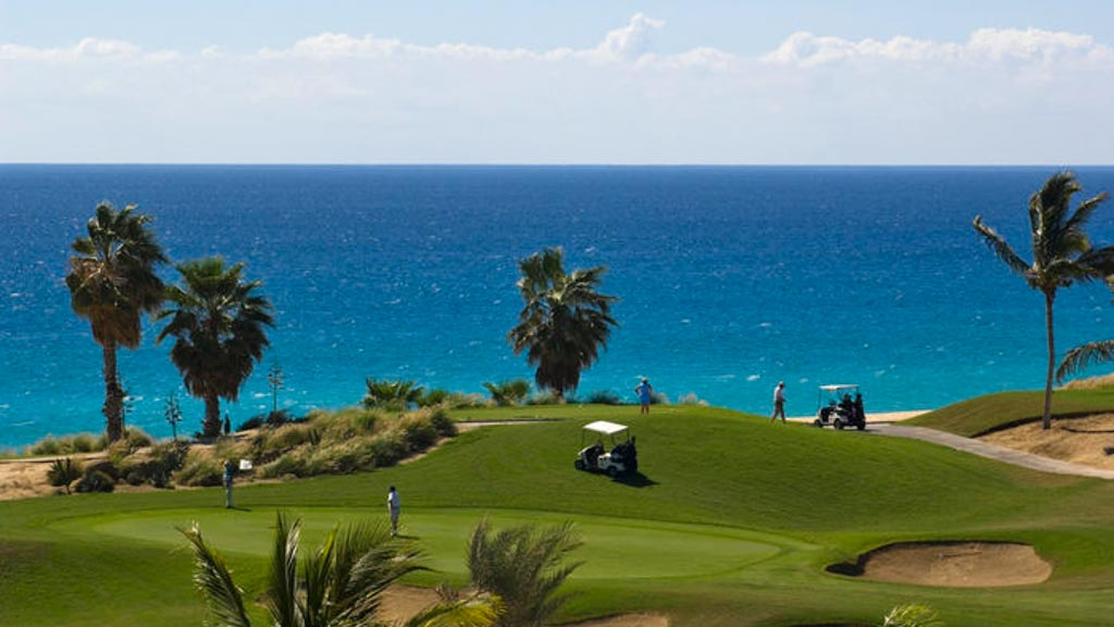 Golf course at Cabo Real. Los Cabos, BCS. Mexico.