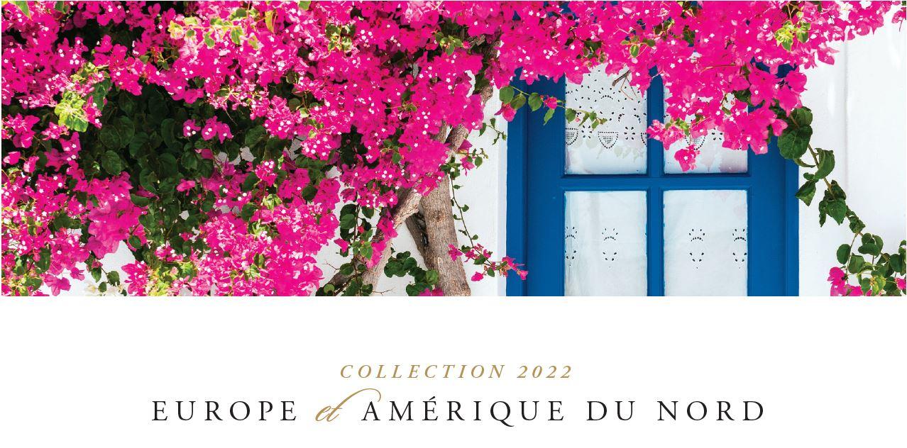 Collection 2022 Europe et Amérique du Nord d'Oceania Cruises
