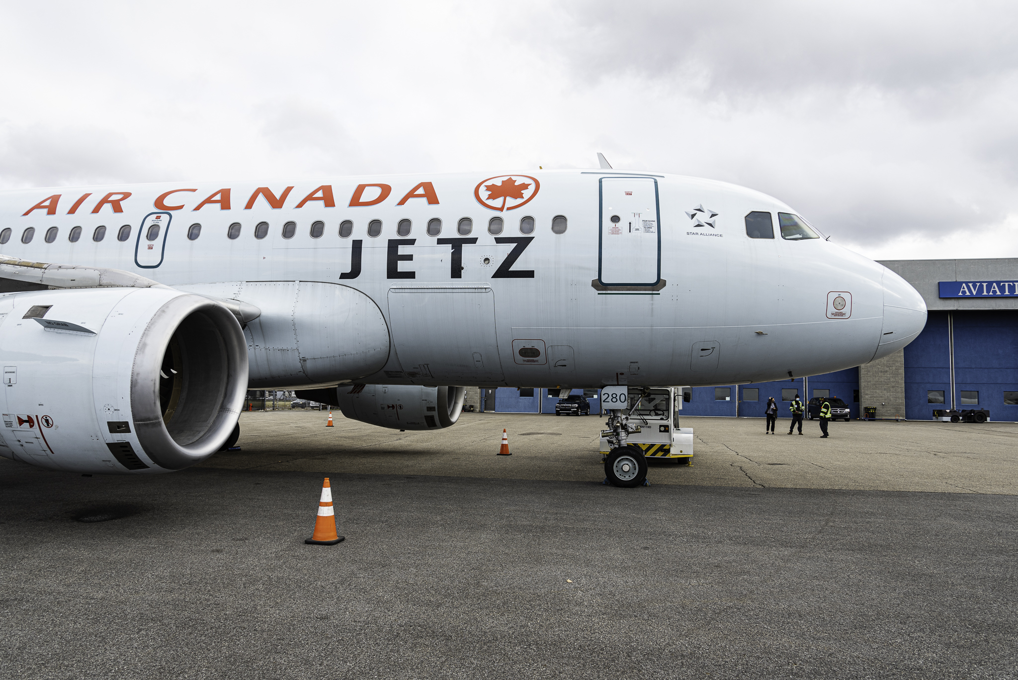 "Air Canada Jetz: to be part of the ""Jetz-set"""