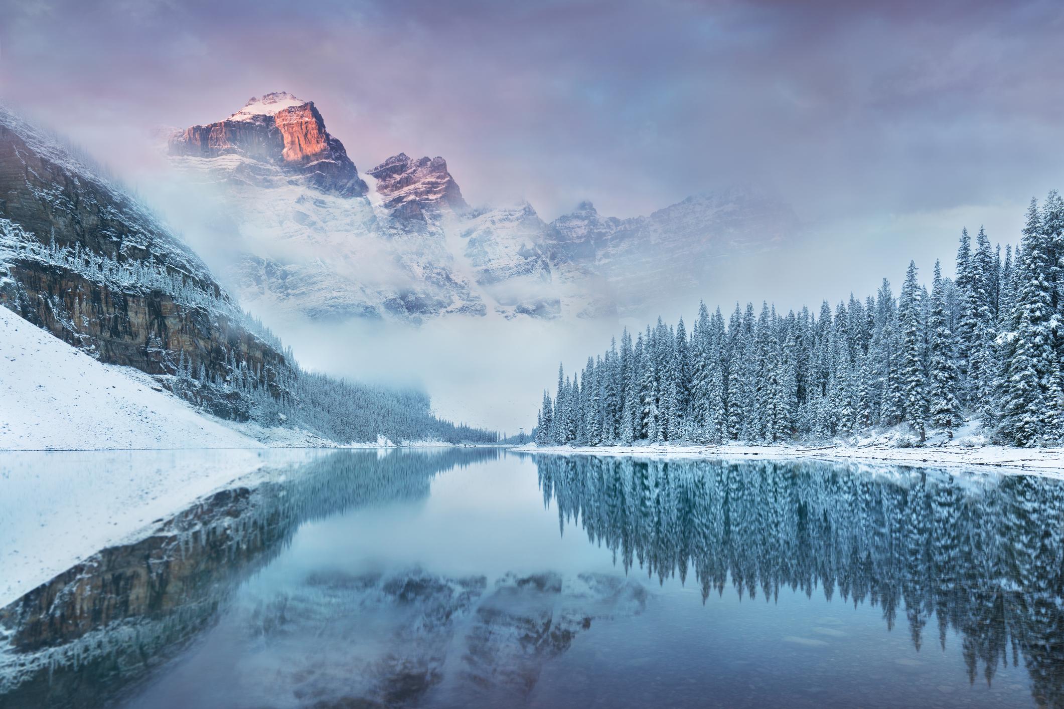 Winter in Western Canada is great