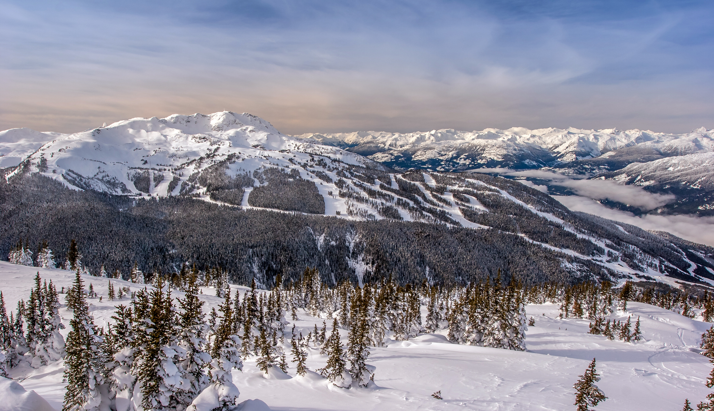 L'Ouest canadien en hiver : le paradis blanc