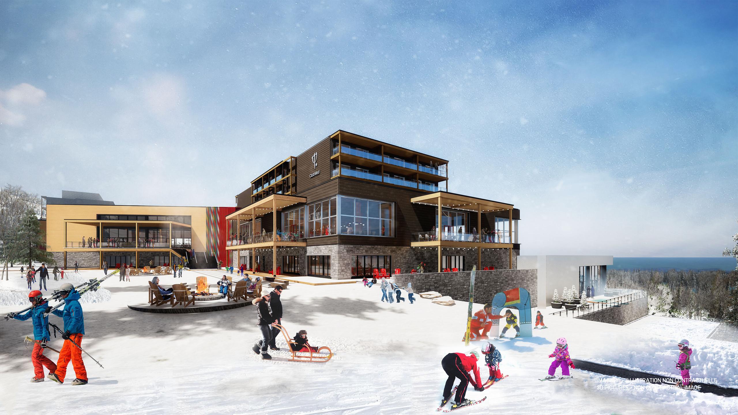 Club Med Québec Charlevoix: plaisir local tout inclus