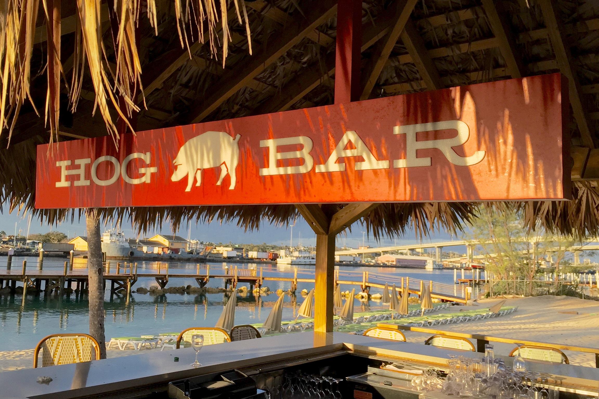 WPIB Hog Bar sign edited