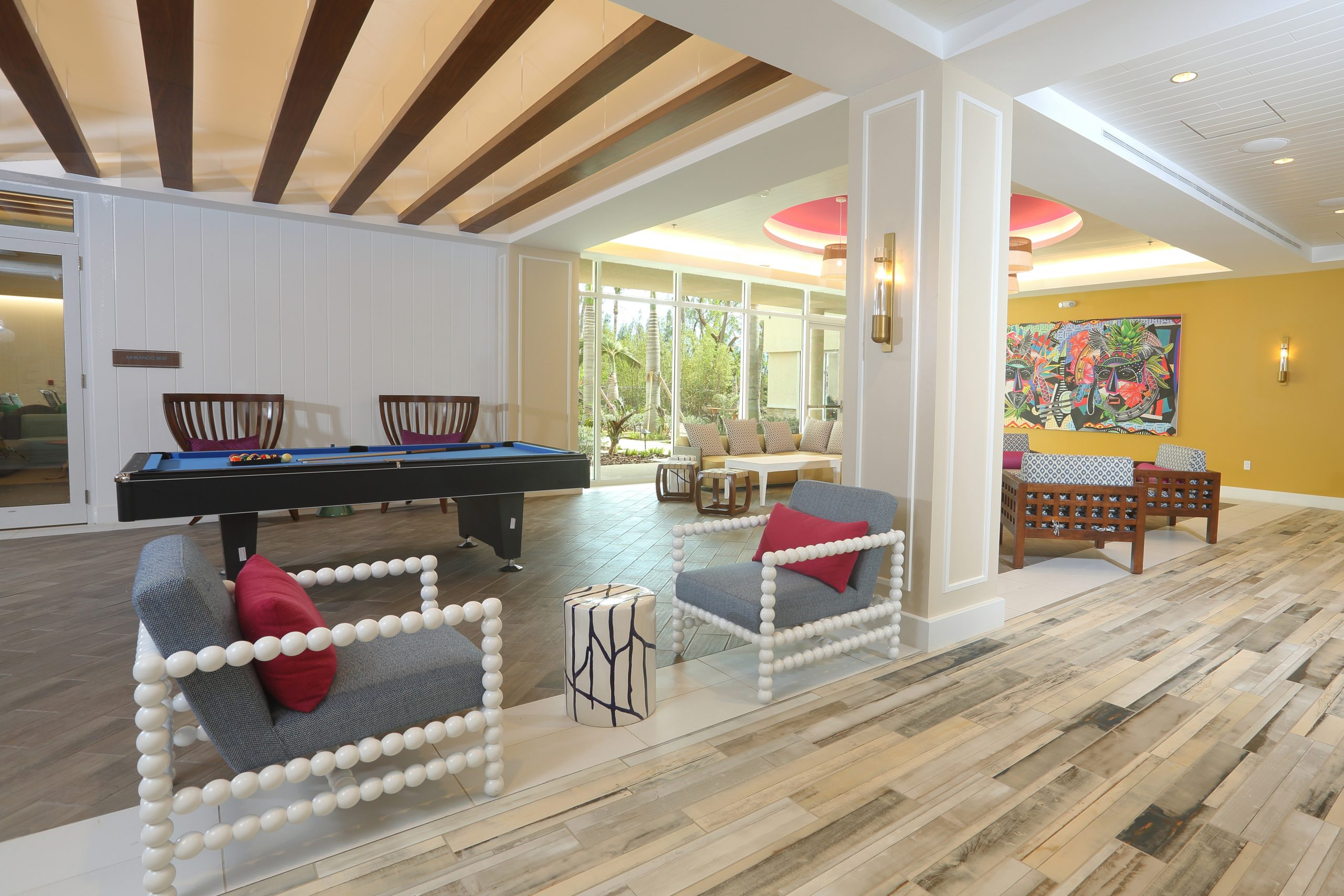 Warwick Paradise Island Bahamas Lobby sitting area