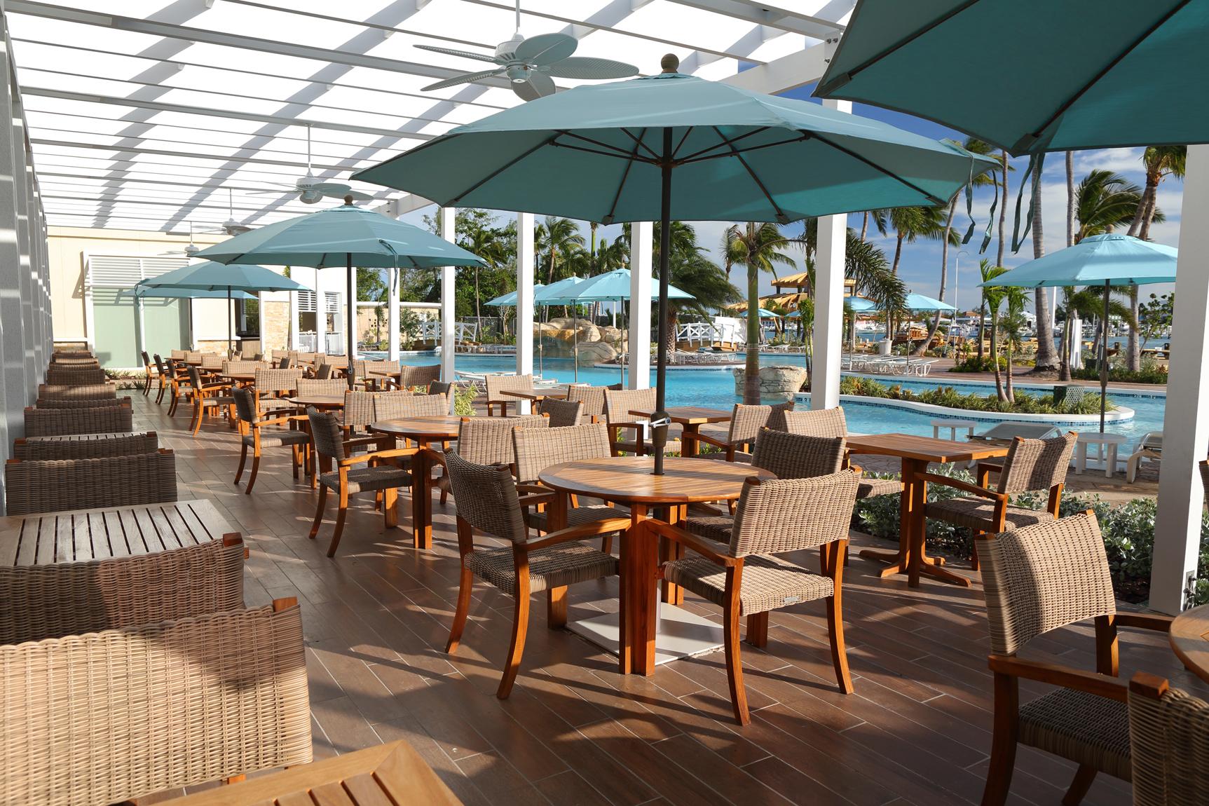 Warwick Paradise Island Bahamas - The Verandah Terrace