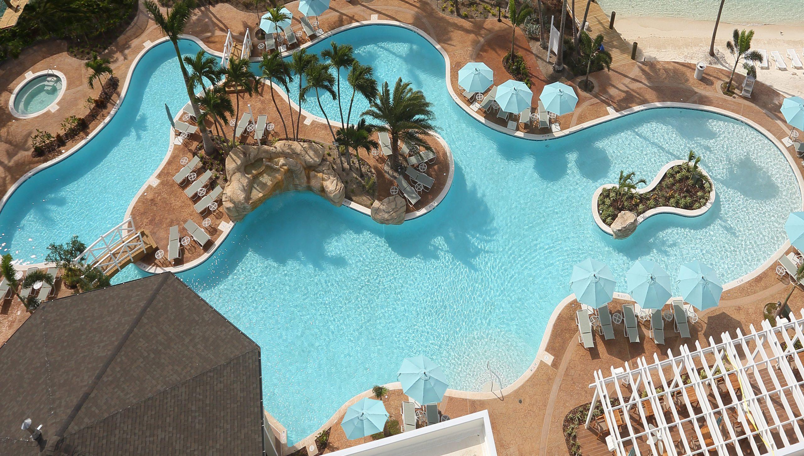 Warwick Paradise Island Bahamas pool overview